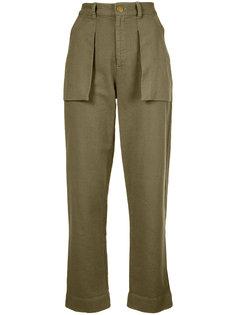 брюки с накладными карманами Raquel Allegra