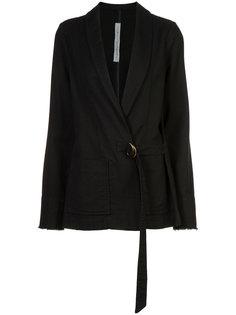 пиджак с запахом Raquel Allegra