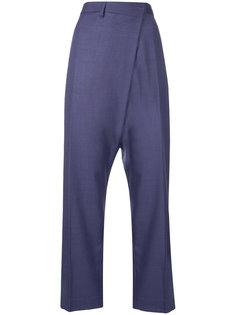 брюки с завышенной талией и поясом  Toga Pulla