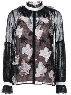 кружевная блузка Ophelia  GINGER & SMART