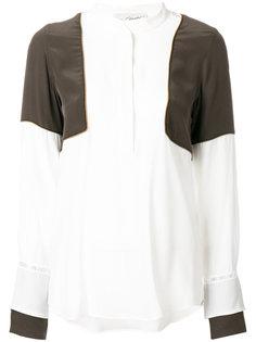 блузка с панельным дизайном Antonia Zander