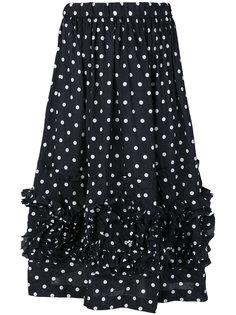 юбка в горох Comme Des Garçons Girl