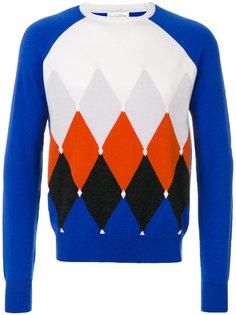 свитер в ромб Ballantyne