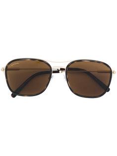 солнцезащитные очки  с квадратной оправой Bulgari