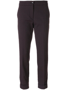 укороченные брюки с геометрическим принтом  Etro