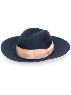 фетровая шляпа с широкими полями Borsalino