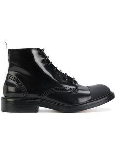 ботинки с контрастным носком Joseph