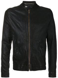 байкерская куртка на молнии Pihakapi