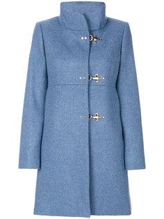 пальто со стоячим воротником Fay