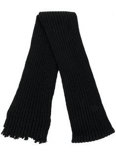 классический шарф Yohji Yamamoto