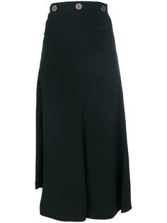 асимметричная юбка-миди Victoria Beckham