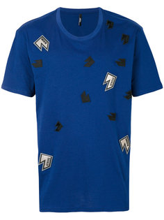 футболка с нашивками Versus