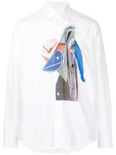 рубашка с принтом Twist Marni