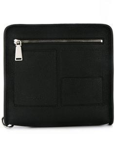 квадратный рюкзак на молнии Jil Sander