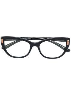 очки с золотистыми деталями Bulgari