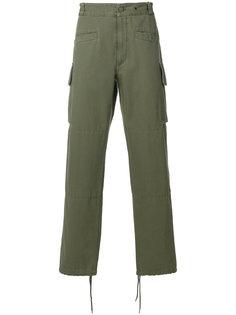 брюки с накладными карманами Maison Margiela