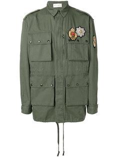 куртка с нашивками Faith Connexion