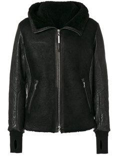куртка с подкладкой из овчины Isaac Sellam Experience