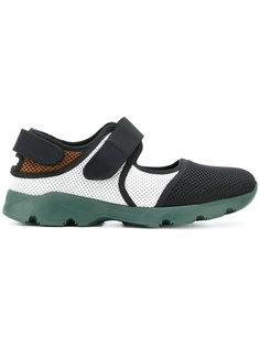 кроссовки на липучке Marni