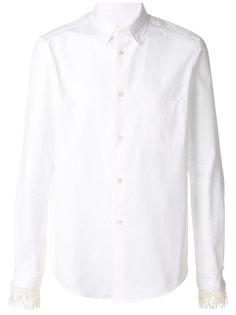рубашка с кисточками на манжетах Golden Goose Deluxe Brand