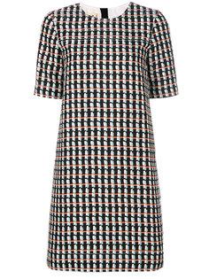 платье-шифт с короткими рукавами Marni
