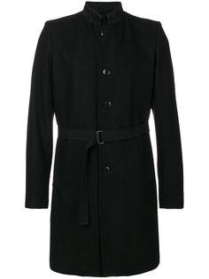 пальто-тренч с поясом Ann Demeulemeester