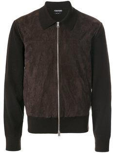 куртка узкого кроя с воротником Tom Ford