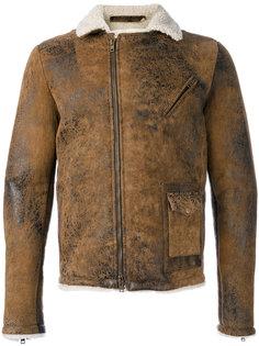 куртка с меховой подкладкой Salvatore Santoro