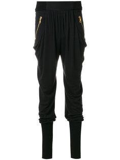брюки с эластичными манжетами и талией Balmain