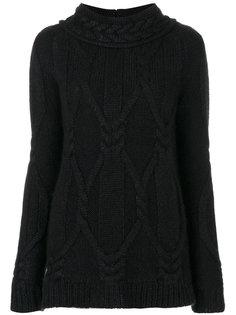 свитер крупной вязки  Balmain