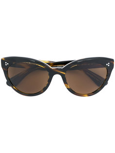 """солнцезащитные очки в оправе """"кошачий глаз"""" с поляризованными линзами Oliver Peoples"""