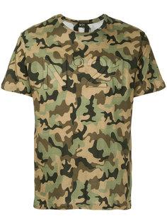 футболка с камуфляжным принтом Nº21