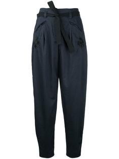 укороченные зауженные брюки Markus Lupfer