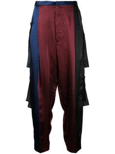 спортивные брюки с панельным дизайном Toga Pulla