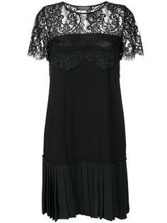 платье с плиссированным подолом Twin-Set