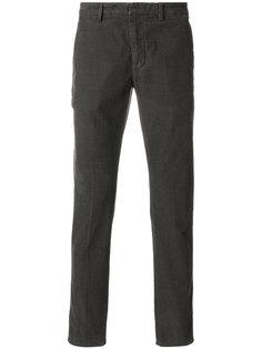 вельветовые брюки кроя слим Dondup