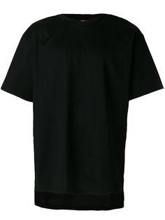 футболка с вышивкой черепа Maison Mihara Yasuhiro