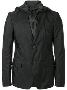 спортивный пиджак с капюшоном Prada