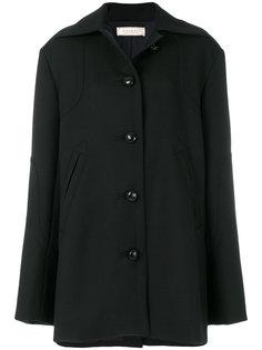 пальто на пуговицах с длинными рукавами Nina Ricci