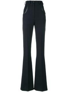 расклешенные брюки с высокой талией Nina Ricci