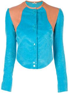укороченный приталенный пиджак  Nina Ricci