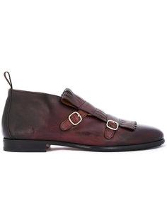 туфли с градиентным эффектом Santoni