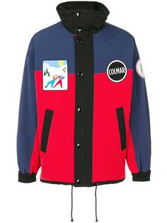 куртка-бомбер дизайна колор-блок Colmar