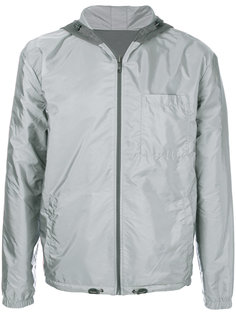 двусторонняя куртка с капюшоном Prada