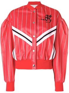 спортивная куртка с полосками  MSGM
