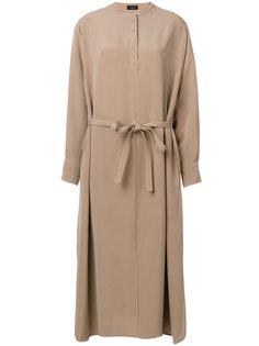 длинное платье с поясом Joseph