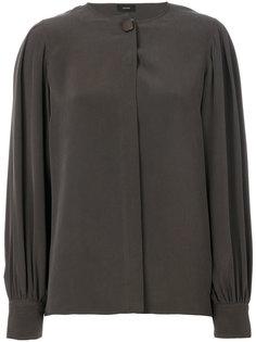 блузка с потайной планкой  Joseph