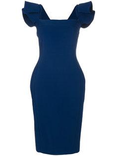 платье с квадратным вырезом Antonio Berardi