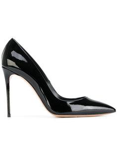 туфли-лодочки с заостренным носком на шпильке Casadei