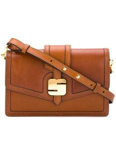 сумка с пряжкой с логотипом Serapian